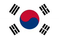 South Korea's flag.